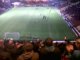 City exit Valley Parade after defeating Burton Albion