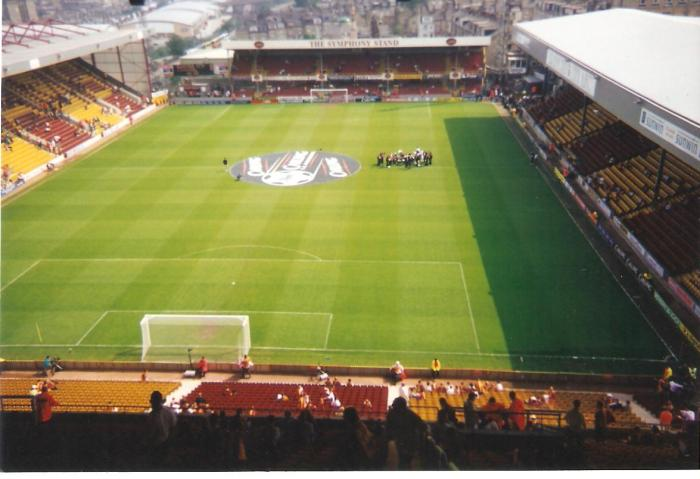 Pre match City vs Liverpool, May 2000
