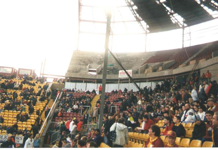 Building the North West Corner. City vs Everton, November 2000