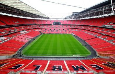 Wembley Stadium - Pre Carling Cup Final