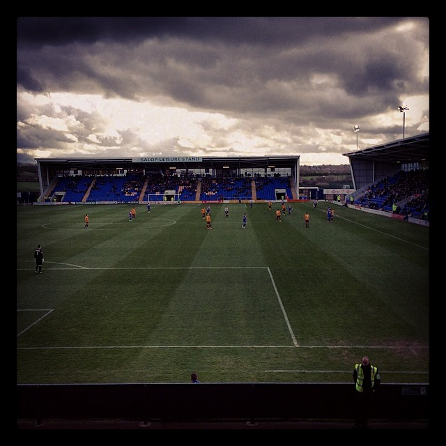 shrewsbury away march 2014