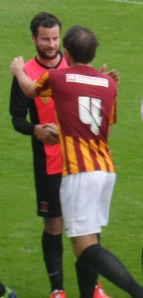 Matthew Bates is warmly welcomed back to Valley Parade.