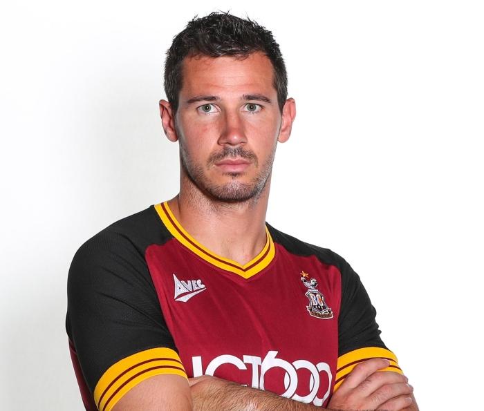 Ryan McGowan Bradford City